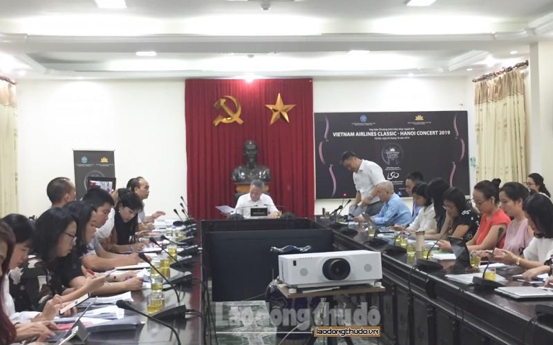 Công bố Chương trình hòa nhạc Vietnam Airlines Classic - Hanoi Concert 2019