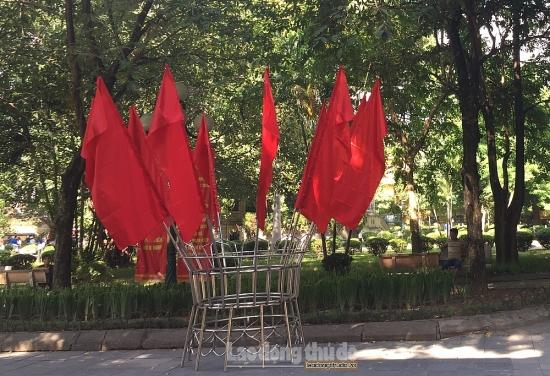Hà Nội tổ chức trang trí chào mừng kỷ niệm 1010 năm Thăng Long - Hà Nội