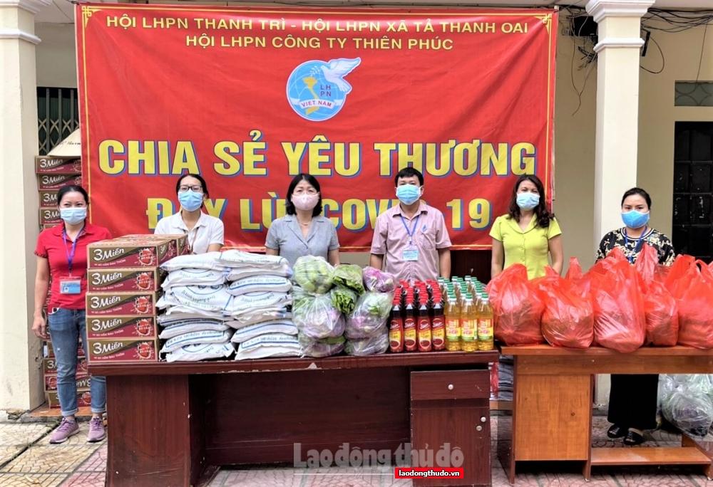 Thanh Trì: 100% hội viên phụ nữ tham gia trực chốt, chống dịch