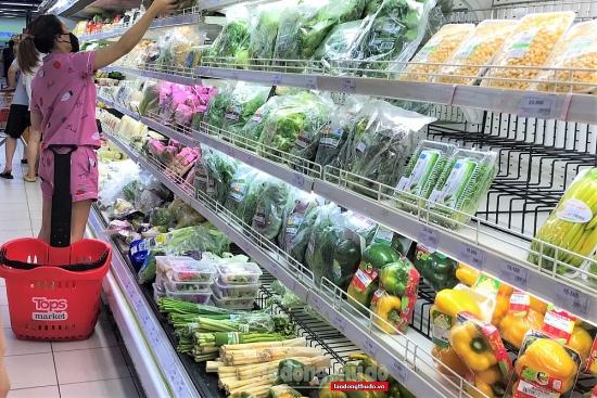 Nguồn cung hàng hóa tại các hệ thống phân phối tại Hà Nội dồi dào
