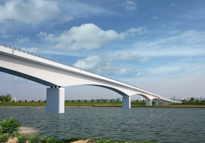 Khởi công xây dựng cầu đường bộ Yên Xuân bắc qua sông Lam