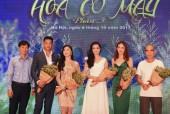 Diễn viên Lương Giang ra mắt phim 'Hoa cỏ may'