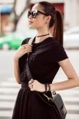 Hoa hậu Phạm Hương sang Hàn Quốc dự Seoul Fashion Week 2017