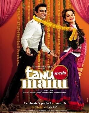 """Chiếu miễn phí bộ phim nổi tiếng của Ấn Độ """"Tanu Weds Manu"""""""
