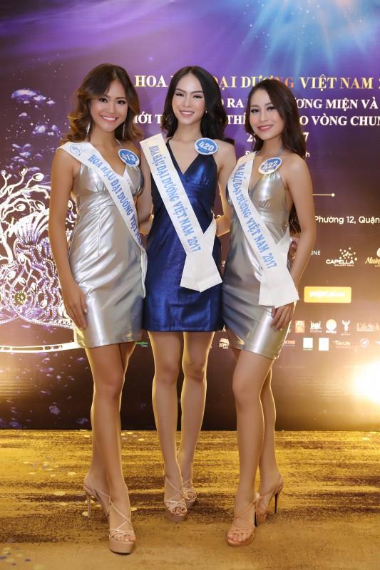 Thí sinh Hoa hậu Đại dương sẵn sàng cho đêm chung kết