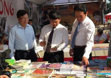 Khai mạc Hội sách Hà Nội lần thứ V tại Di sản Hoàng Thành Thăng Long