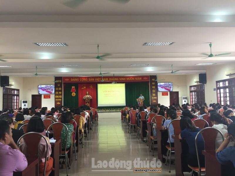 huyen thanh tri to chuc boi duong nghiep vu cong tac cong doan nam 2019