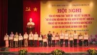 Huyện Thường Tín tổng kết phong trào 'Người tốt, việc tốt'
