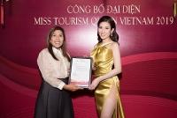 Á khôi Dương Yến Nhung đại diện Việt Nam tham dự Hoa hậu Du lịch thế giới 2019