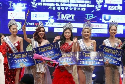 Vương miện Hoa hậu Doanh nhân sắc đẹp thế giới 2019 đã có chủ