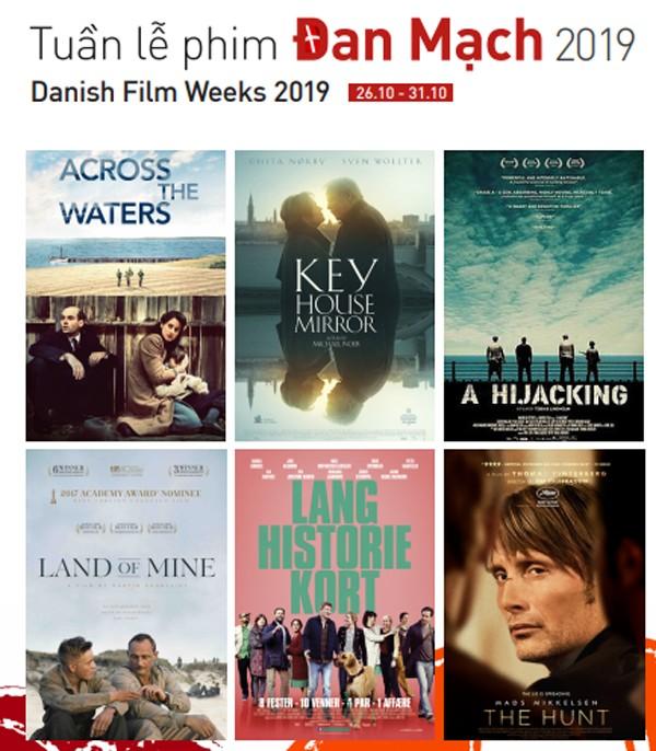 Sắp diễn ra Tuần lễ phim Đan Mạch 2019 tại Hà Nội