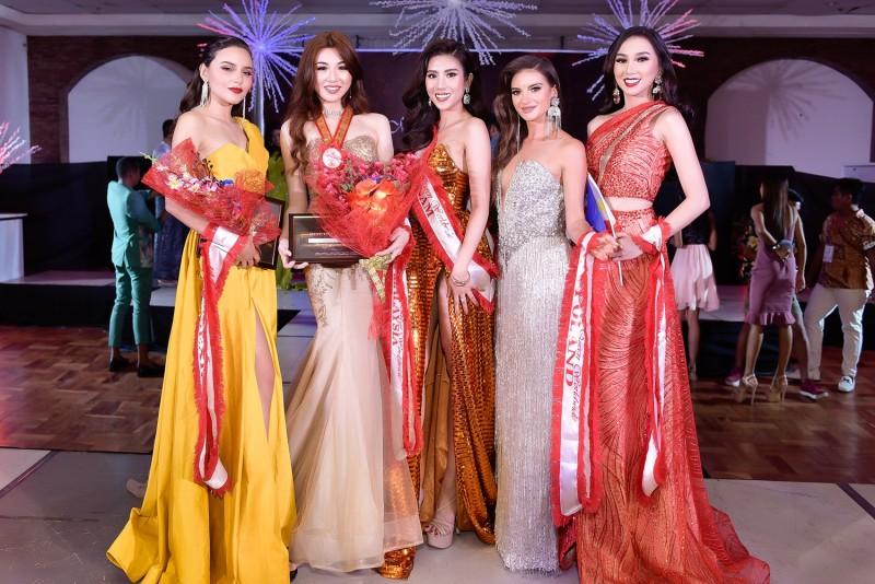 Đại diện Việt Nam lọt top 5 trang phục dạ hội đẹp nhất Hoa hậu Du lịch Thế giới 2019