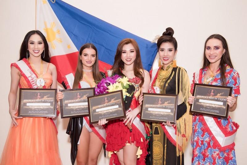 Dương Yến Nhung giành giải Á hậu 2 Người đẹp tài năng Hoa hậu Du lịch thế giới 2019