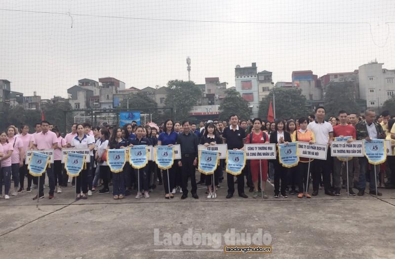 Tổng Công ty Du lịch Hà Nội tổ chức Ngày hội thể thao kỷ niệm 15 năm thành lập