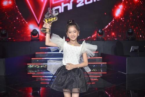 Kiều Minh Tâm đăng quang quán quân Giọng hát Việt nhí 2019