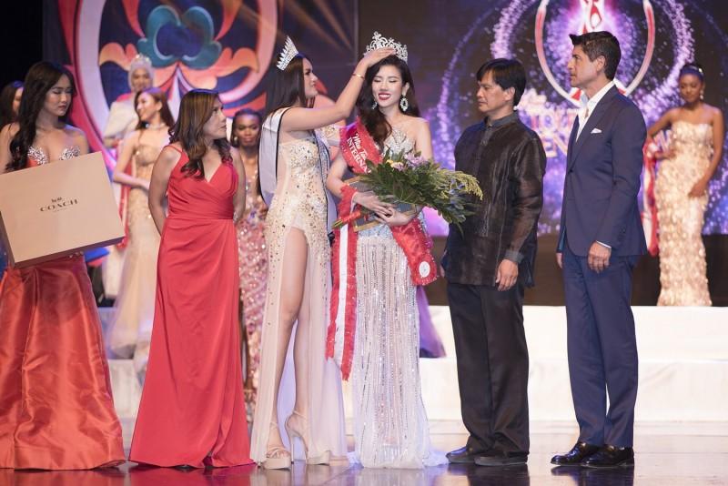 Dương Yến Nhung xuất sắc đăng quang Hoa hậu Du lịch Quốc tế 2019