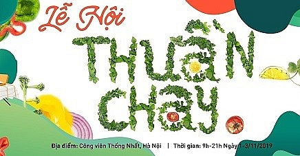 Ngày 1/11 sẽ diễn ra Vegan Festival - Lễ hội Thuần Chay tại Hà Nội