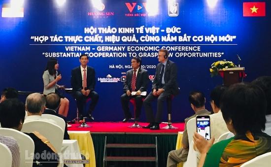 Kinh tế Việt Nam – Cộng hòa Liên bang Đức: Hợp tác thực chất, hiệu quả