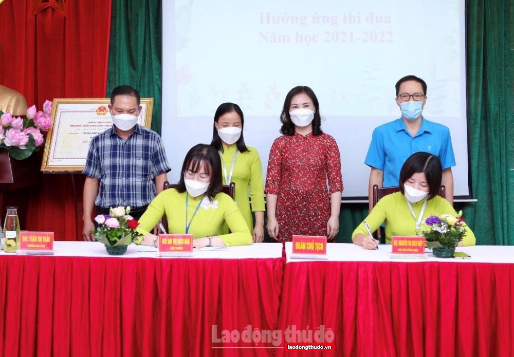 Trường Mầm non Vĩnh Quỳnh tổ chức Hội nghị cán bộ, viên chức, người lao động năm học 2021–2022
