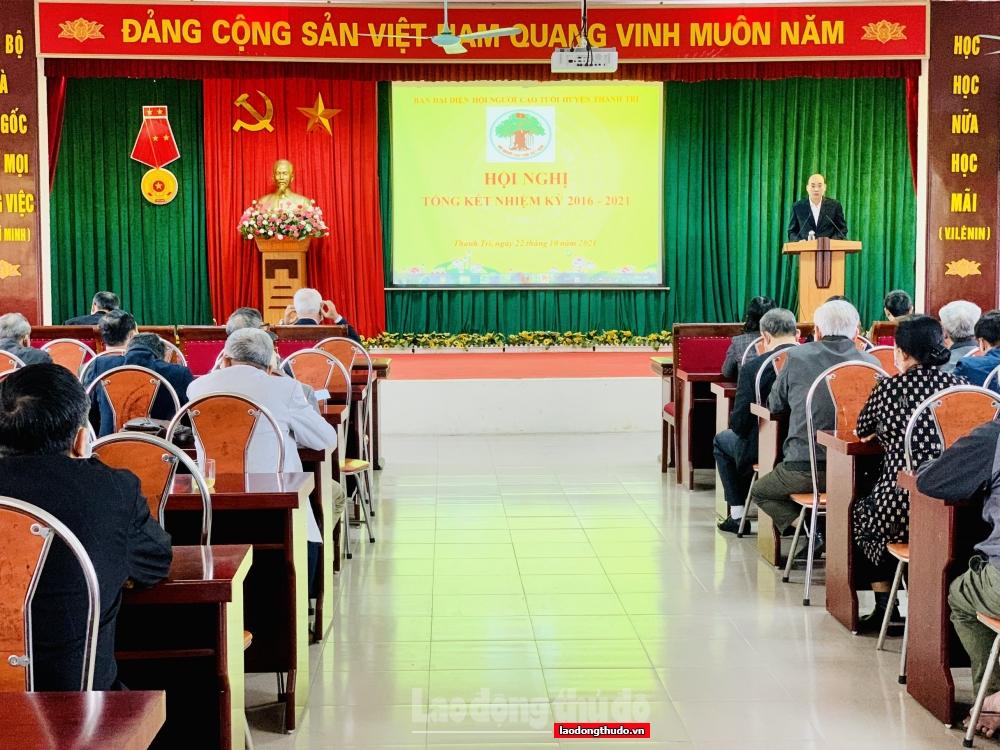 Huyện Thanh Trì chú trọng phát huy vai trò người cao tuổi