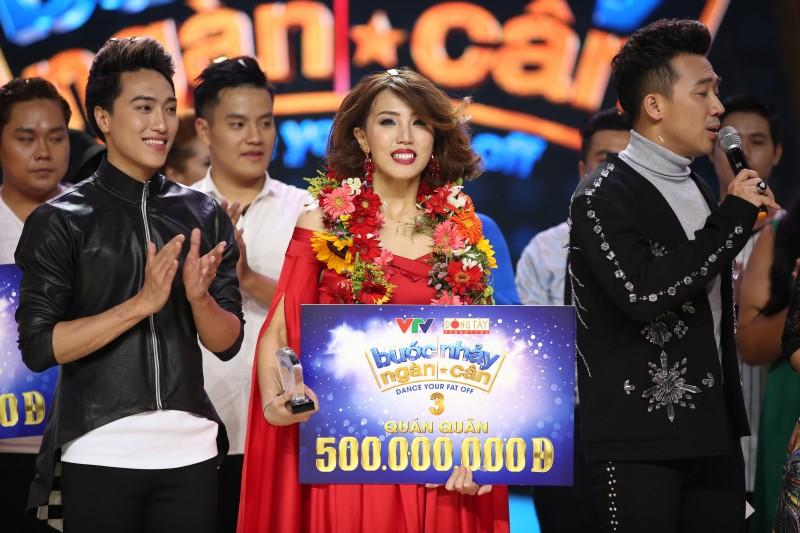 Giảm 28 kg trong 11 tuần, Thanh Huyền đăng quang 'Bước nhảy ngàn cân'