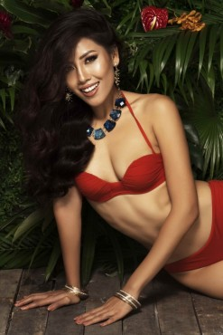 Hé lộ ảnh Bikini quyến rũ của Á hậu Nguyễn Thị Loan trước đêm chung kết Miss Universe 2017