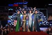 Hàng loạt mỹ nhân Việt mặc áo dài 'Thiên đường gọi tên'