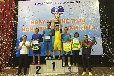 Tưng bừng Ngày hội thể thao Hanoi Tourist 2018