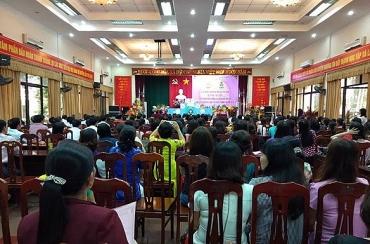 LĐLĐ huyện Thường Tín tổ chức Lễ kỷ niệm 36 năm ngày nhà giáo Việt Nam