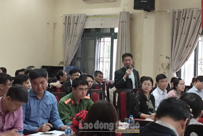Cử tri huyện Thanh Trì quan tâm đến các dự án chậm tiến độ gây lãng phí đất nông nghiệp
