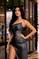 Minh Tú khoe vẻ đẹp nữ thần trong buổi ra mắt phim 'Hoa hậu giang hồ'
