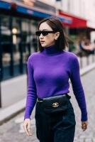 Á hậu Hà Thu mix đồ chuẩn fashionista tại phố Paris