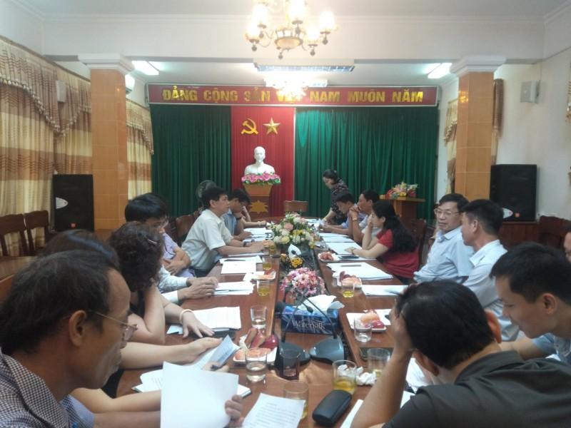Hội nghị Ban Chấp hành Liên đoàn lao động huyện Thường Tín
