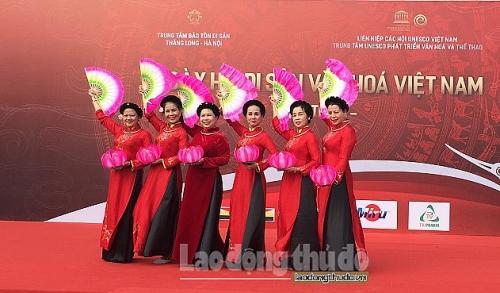 """Khai mạc """"Ngày hội di sản văn hóa Việt Nam"""""""