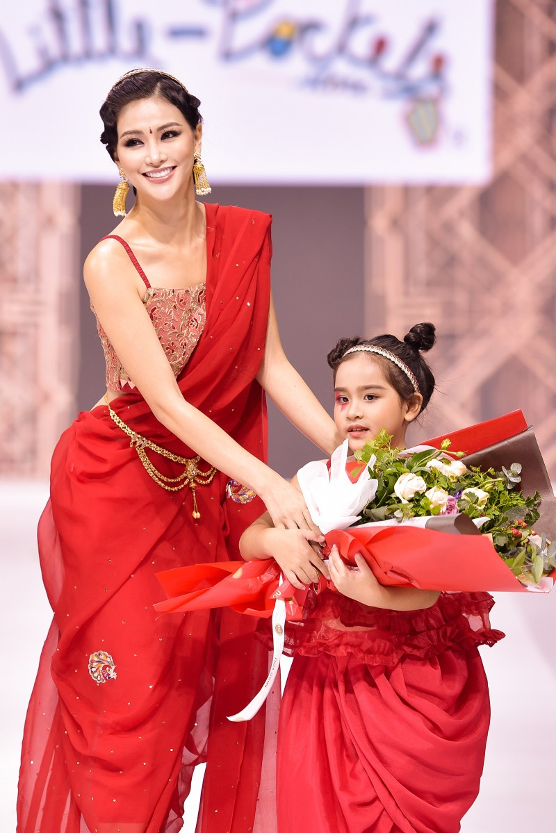 phuong khanh noi bat tai asian kids fashion week