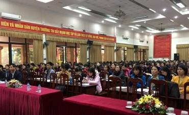 LĐLĐ huyện Thường Tín tổ chức tập huấn Công tác tài chính công đoàn