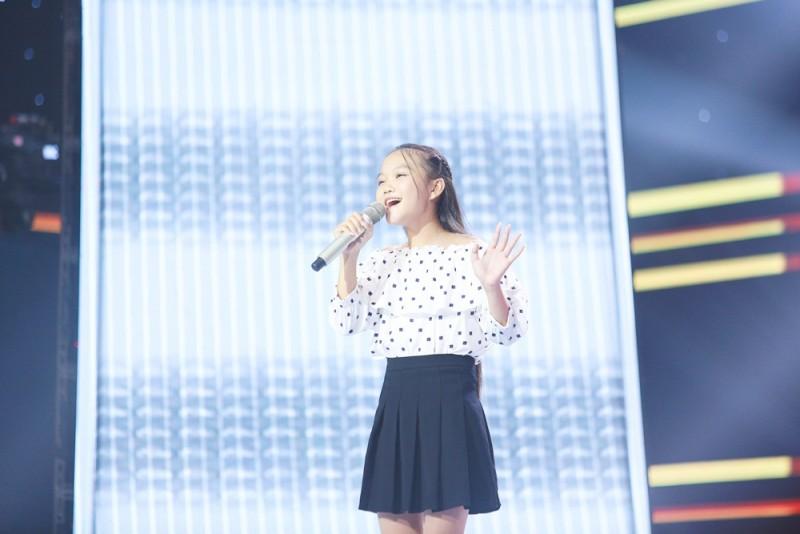 Hà Quỳnh Như được kỳ vọng sẽ trở thành quán quân Giọng hát Việt nhí 2018