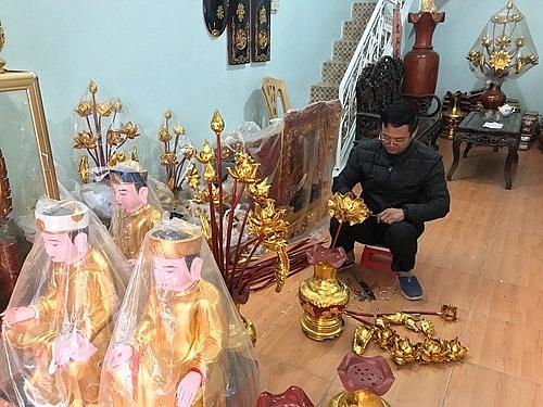 Làng nghề mỹ nghệ Sơn Đồng: Thu hút lao động nông thôn trong thời kỳ hội nhập