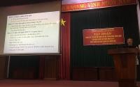 LĐLĐ huyện Thường Tín: Tập huấn công tác tổ chức hội nghị CBCC,VC