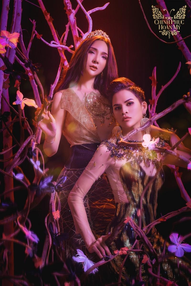 The Tiffany Việt Nam tung bộ ảnh khoe vẻ đẹp quyến rũ của các mỹ nhân chuyển giới