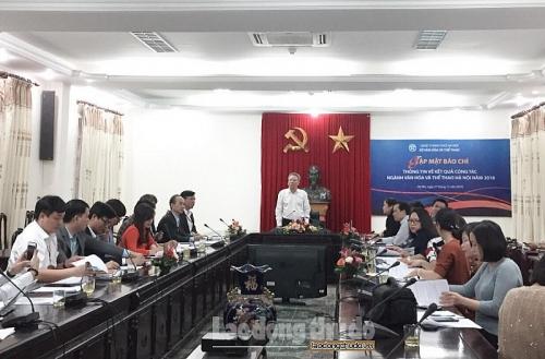 Sở Văn hóa và Thể thao Hà Nội gặp mặt báo chí cuối năm 2018