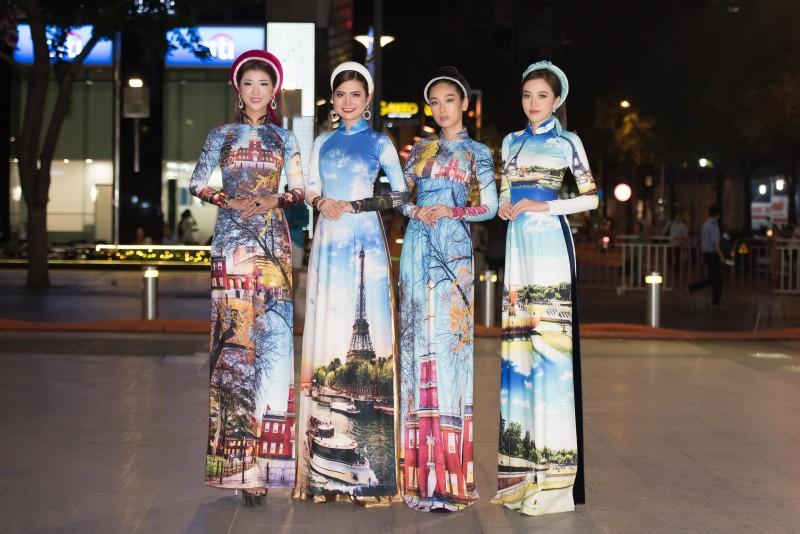 Áo dài Việt: Điểm nhấn Lễ hội Thành phố Hồ Chí Minh 2019
