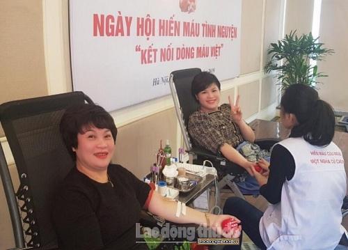 Tổng Công ty Du lịch Hà Nội tổ chức hiến máu tình nguyện