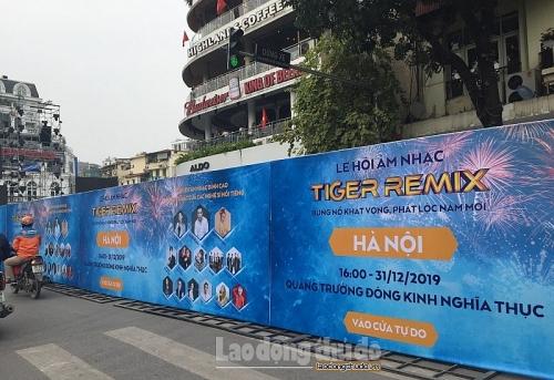 Lễ hội đếm ngược ở Hà Nội: Đón chờ thời khắc đặc biệt