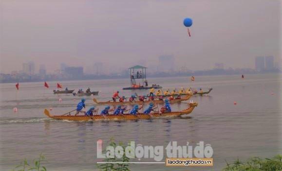 Bơi chải Thuyền rồng Hà Nội: Sân chơi thể thao cuốn hút của khu vực Đông Nam Á