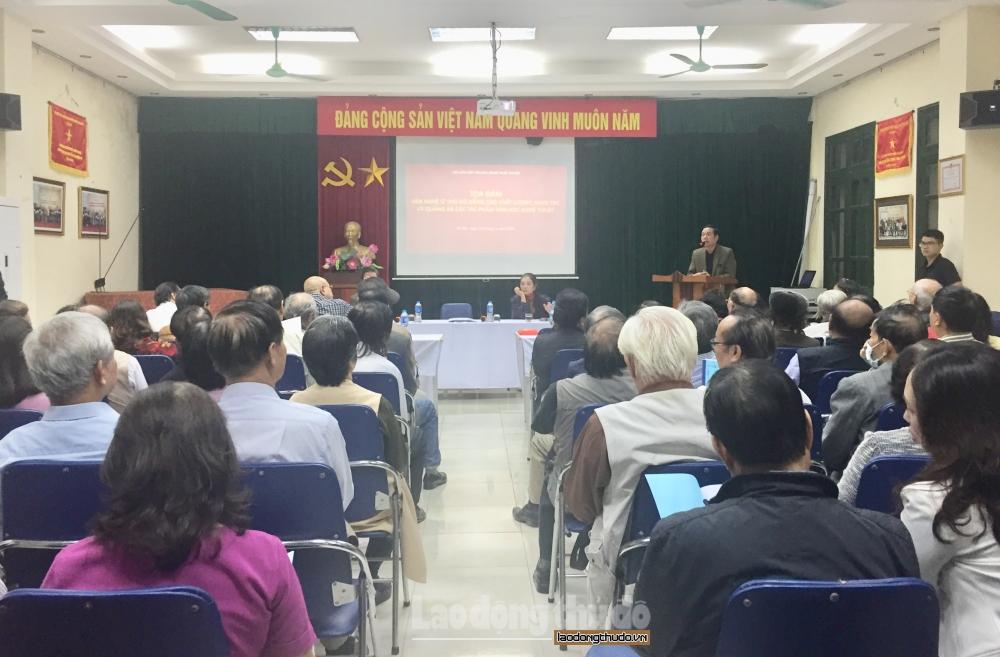 Hội Văn học nghệ thuật Hà Nội: Một năm vượt khó nâng cao chất lượng sáng tác