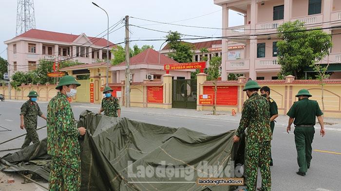 Nghệ An: Dỡ phong tỏa trụ sở Công an huyện Đô Lương