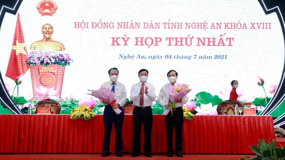 Bí thư Tỉnh ủy Nghệ An được bầu giữ chức Chủ tịch Hội đồng nhân dân tỉnh nhiệm kỳ 2021-2026