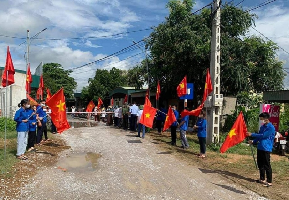 Thêm nhiều khu dân cư ở Nghệ An được dỡ phong tỏa