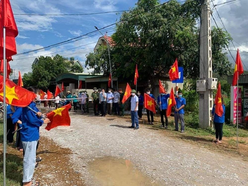 Nghệ An dỡ phong tỏa thêm nhiều khu dân cư ở huyện Nam Đàn và Quỳnh Lưu